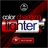 Fantasio Color Changing Lighter by Vernet Magic - Trick