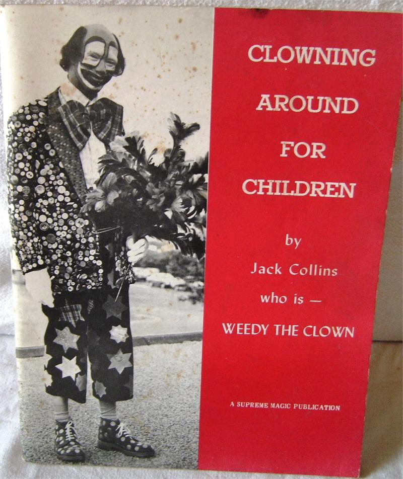 Clowning Around for Children by Jack Collins - Book