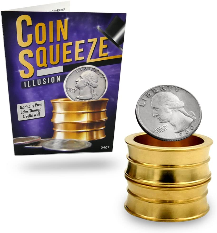Coin Squeeze Trick and Online Instructions - Trick