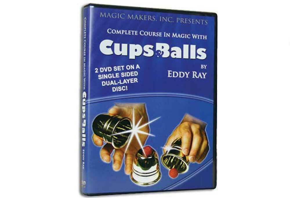 Cups & Balls by Eddy Ray - DVD