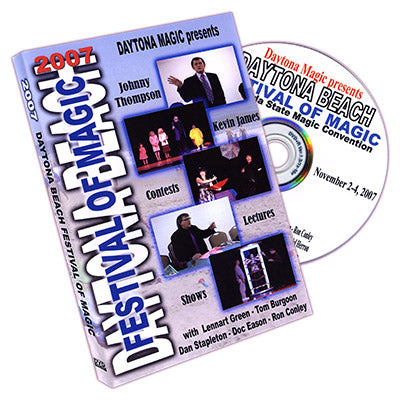 Daytona Beach Festival of Magic 2007 by Daytona Magic Inc. - DVD