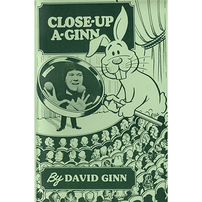 Close Up A-Ginn by David Ginn - Book