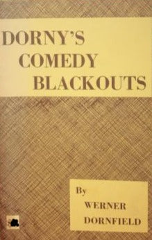 Dorny's Comedy Blackouts by Werner Dornfield - Book