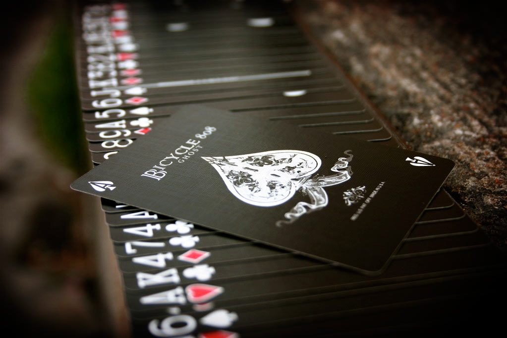 Bicycle Black Ghost Playing Cards by Ellusionist - 2nd Edition