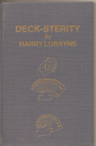 Deck-Sterity by Harry Lorayne - Book