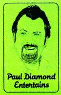 Paul Diamond Entertains - Book