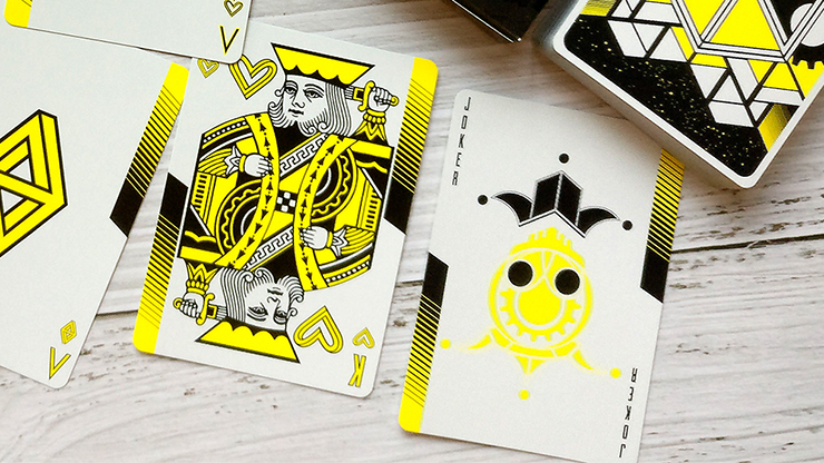 Dream Recurrence: Exuberance Playing Cards (Standard) by Card Experiment