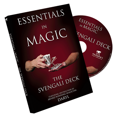 Essentials in Magic: Svengali Deck by Daryl - DVD