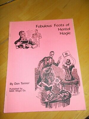 Grant's Fabulous Feats of Mental Magic by Don Tanner - Book