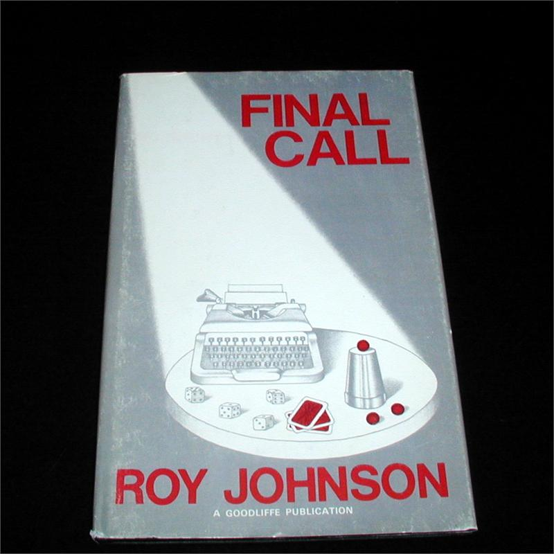 Final Call by Roy Johnson - Book