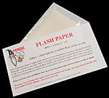 Flash Paper (4 sheets) - Accessory