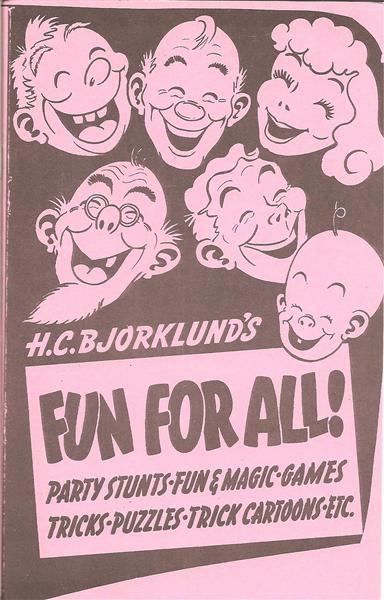 Fun For All by Harry Bjorklund - Book