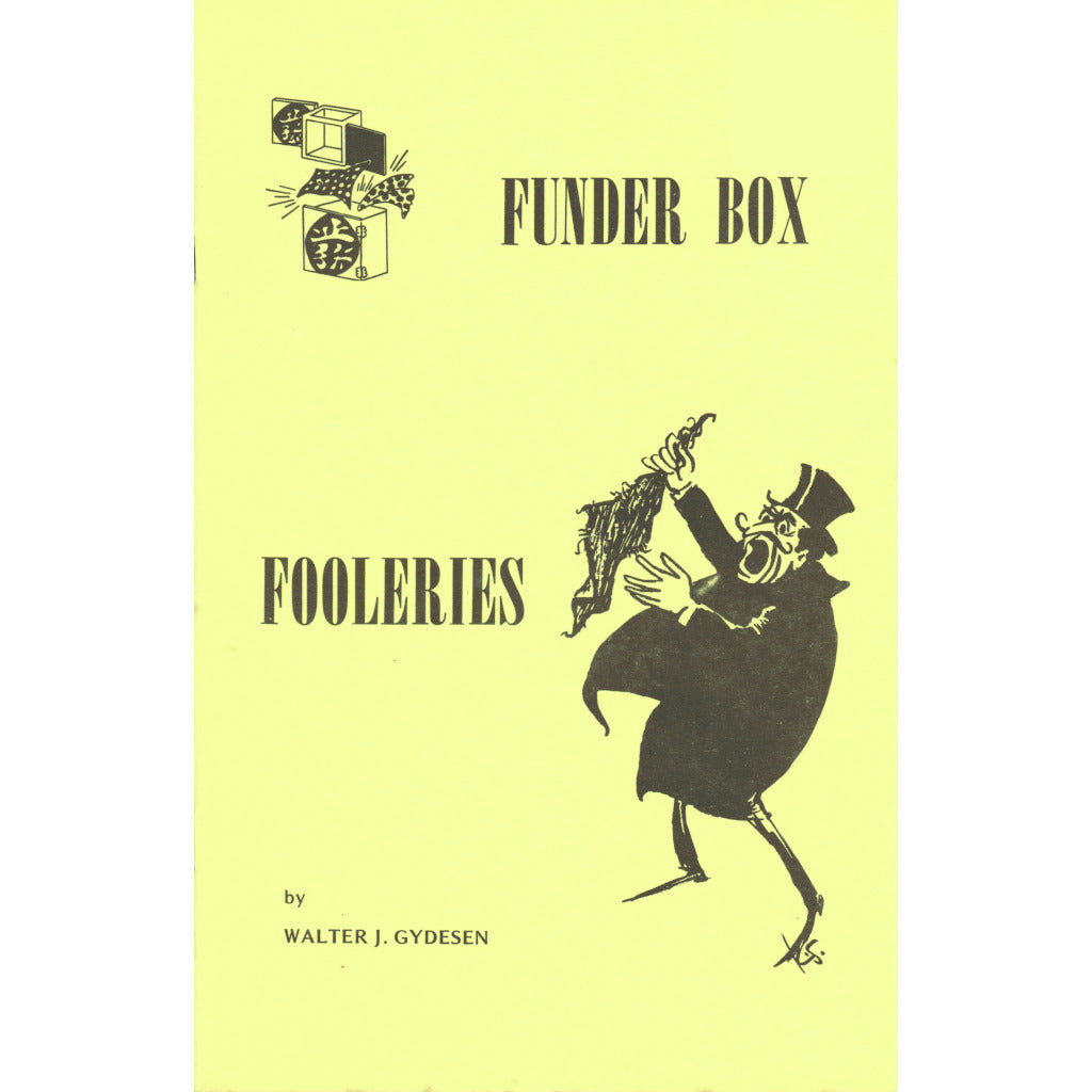 Funder Box Fooleries by Walter Gydesen - Book
