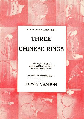 Three Chinese Rings by Lewis Ganson - Book