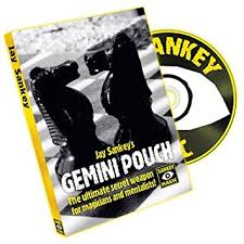 Jay Sankey's Gemini Pouch - DVD and Gimmick