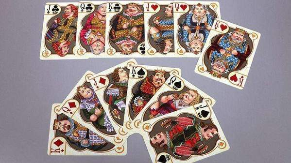 Gluttony Playing Cards by Collectible Playing Cards