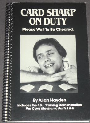 Card Sharp on Duty by Allen Hayden - Book