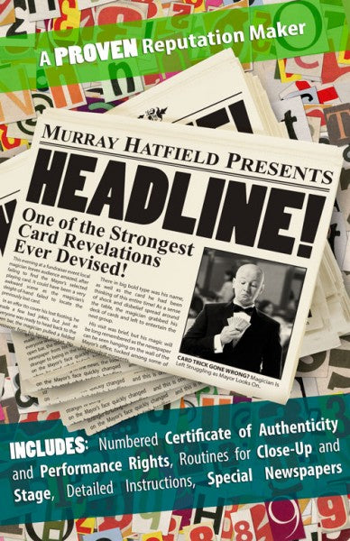 Headline! Presented by Murray Hatfield