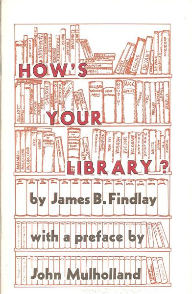How's Your Library? by James Findlay - Book
