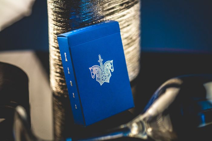 Blue Knights Playing Cards by Ellusionist