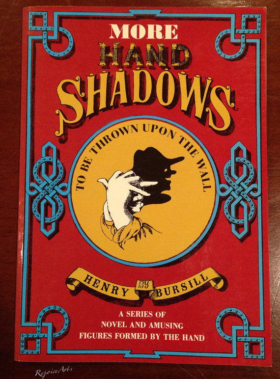 More Hand Shadows by Henry Bursill - Book