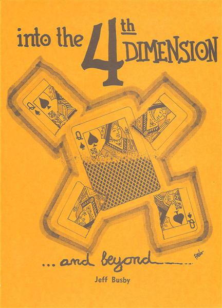 Into The 4th Dimension by Jeff Busby - Book