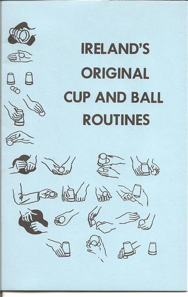 Ireland's Original Cup & Ball Routines by Laurie Ireland - Book