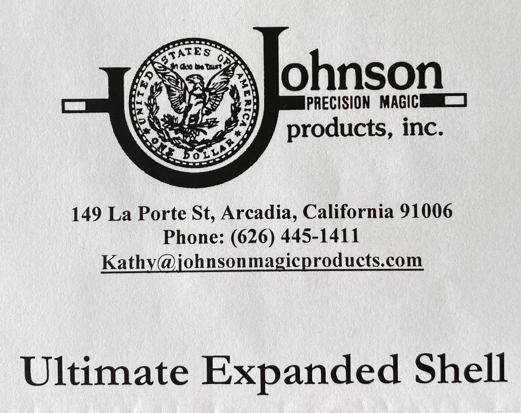 Ultimate Expanded Shell by Johnson Magic - Trick