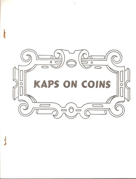 Kaps on Coins by Fred Kaps - Book