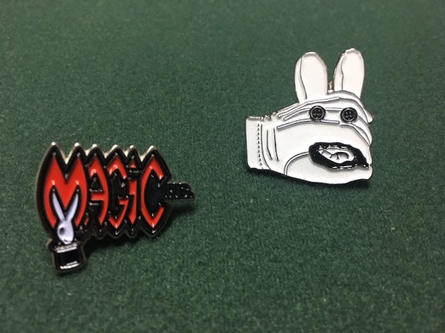 Magic Inc and Lefty Lapel Pins - Accessory