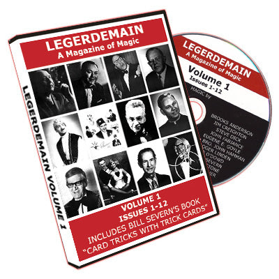 Legerdemain - A Magazine of Magic - DVD