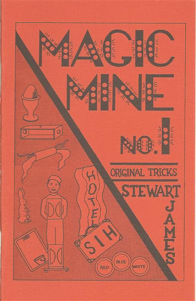 Magic Mine by Stewart James - Book