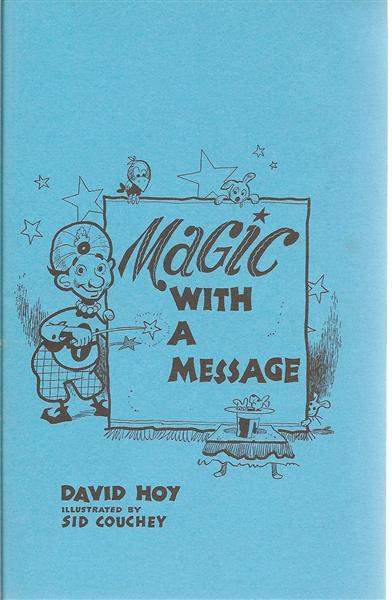 Magic with a Message by David Hoy - Book