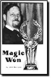 Magic Won by Jack Barrows - Book