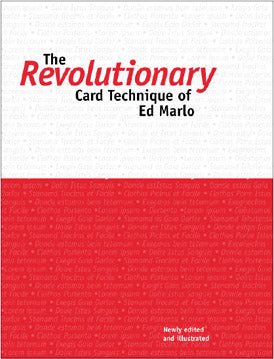 Revolutionary Card Technique by Ed Marlo - Book