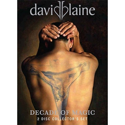 David Blaine Decade Of Magic - DVD