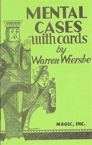 Mental Cases With Cards by Warren Wiersbe - Book
