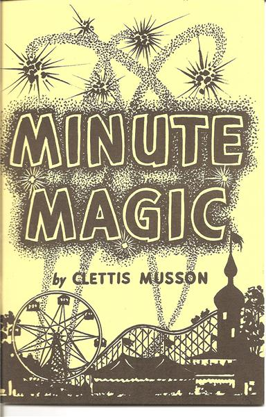 Minute Magic by Clettis Musson - Book
