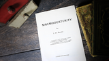 Mnemodexterity by L. De Bevere - Book