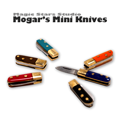 Smash Climax - Miniature Knives by Joe Mogar