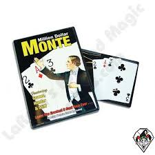 Million Dollar Monte (with Gimmicked Bicycle Cards) - DVD