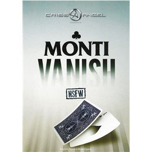 Monti Vanish (DVD and Gimmicks) by Joe Monti and Criss Angel - DVD
