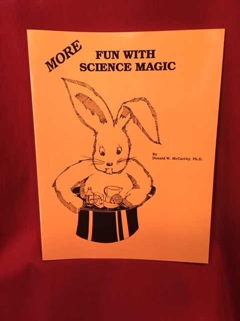 MORE Fun With Science Magic by Donald W. McCarthy, Ph.D. - Book