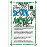 Ron Bauer's Private Studies Vol. 18 - Xerox Money - Book
