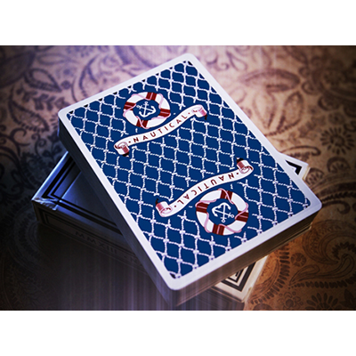 Nautical Playing Cards (Red, Blue) by House of Playing Cards