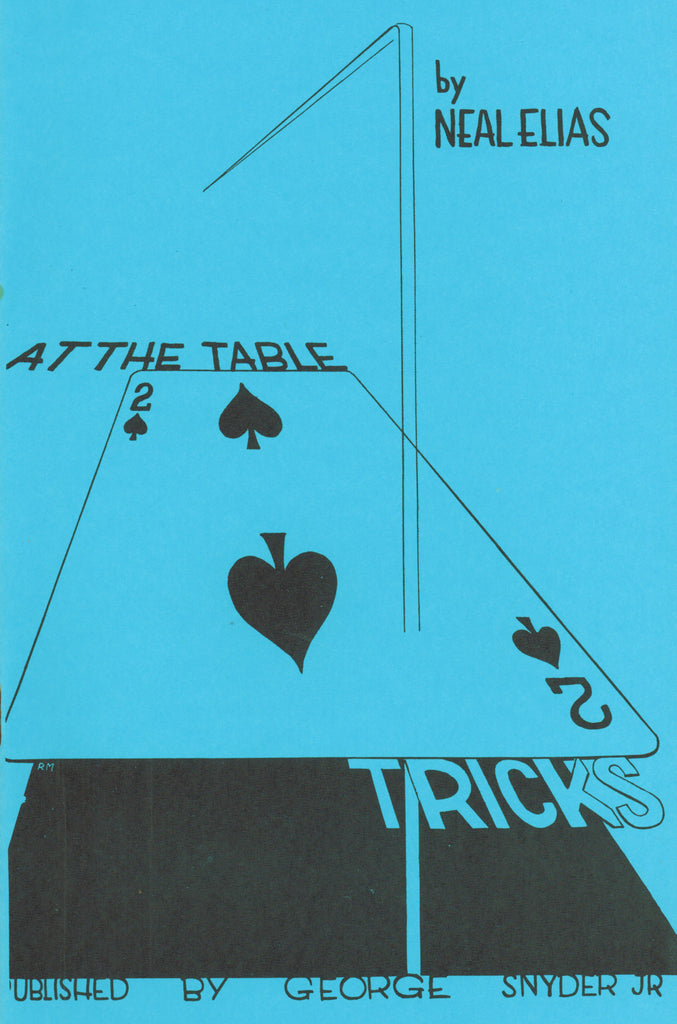 At The Table Tricks by Neal Elias -- Book