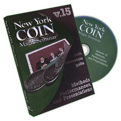 New York Coin Magic Seminar Vol. 15 - DVD