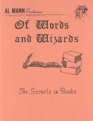 Of Words and Wizards by Al Mann - Book