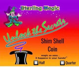 Shim Shell Coin by Sterling Magic - Trick