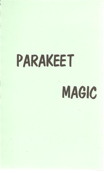 Parakeet Magic - Book
